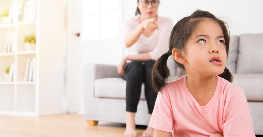 No corregir a los hijos, es no quererlos. Disciplinar, también es amar.