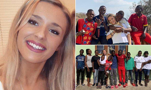 Una joven de 26 años adopta a 14 niños después de haber trabajado como voluntaria en un orfanato.