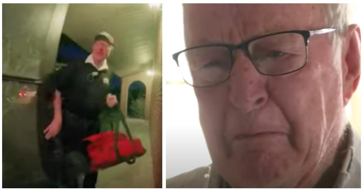 Un repartidor de pizzas de 89 años, recibe una propina sorpresa. ¡No lo puede creer!