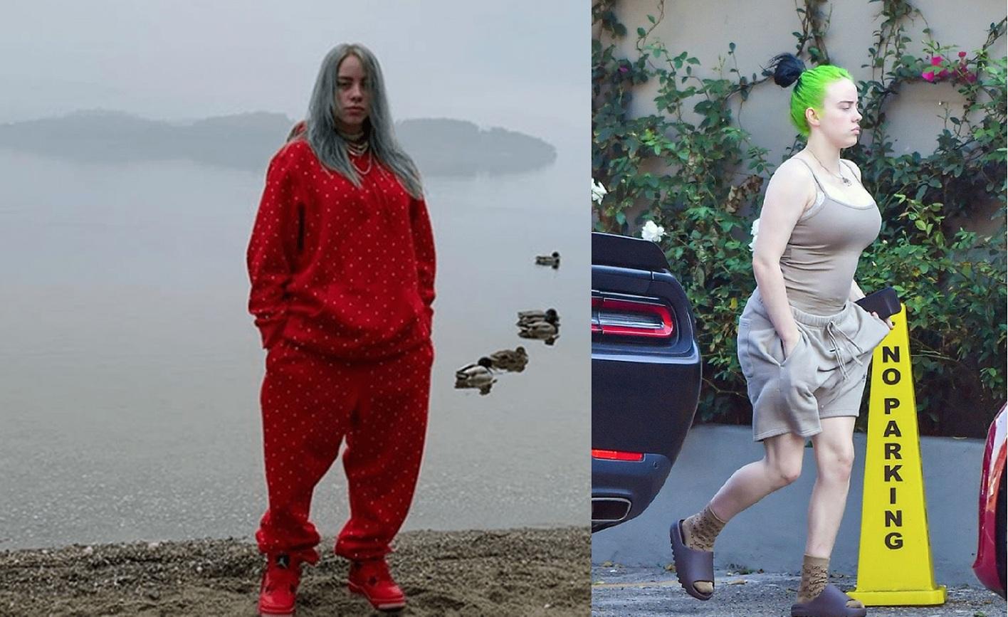 Billie Eilish dejó atrás la ropa holgada y se animó a usar ropa ajustada. Ahora luce sus curvas.