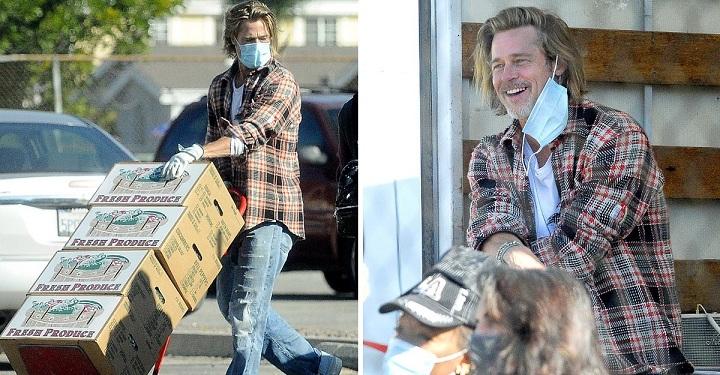 Brad Pitt ayuda a los más necesitados con toda discreción. La humildad ante todo.