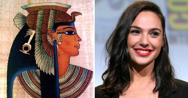 """Polémica por la elección de Gal Gadot para el papel de Cleopatra. Dicen que es """"demasiado blanca""""."""
