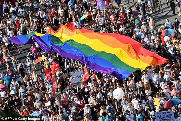 """""""La madre es una mujer, el padre es un hombre"""". La Constitución de Hungría prohíbe a las parejas homosexuales adoptar niños."""