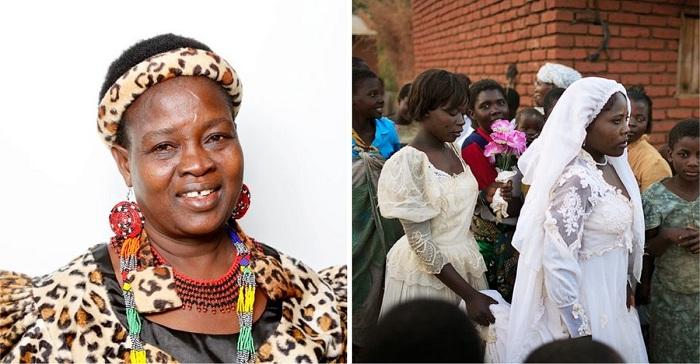 Una mujer anula más de 2000 matrimonios infantiles y envía a las niñas de vuelta a la escuela.