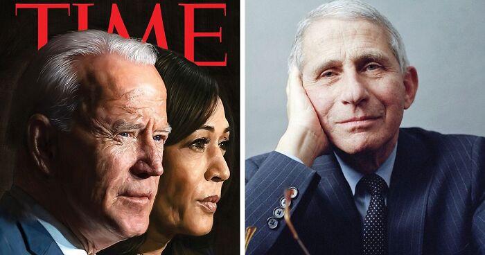 Joe Biden y Kamala Harris, fueron elegidos personajes del año por la revista Time.