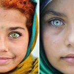 Un artista fotografía los ojos hipnóticos de niños turcos. Color y belleza.