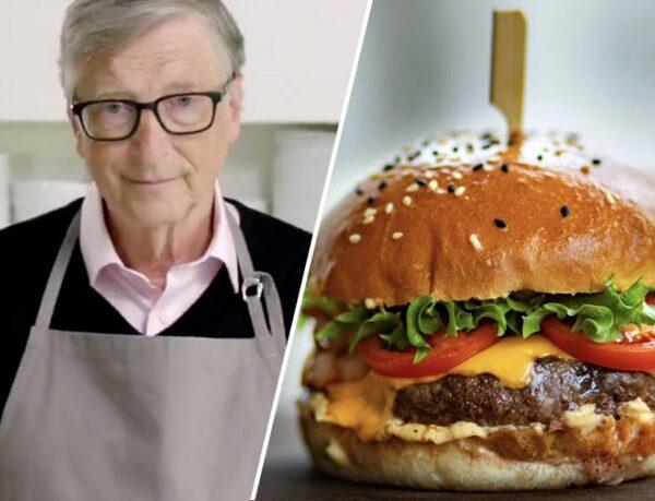 """Bill Gates dice que los países ricos deberían comer """"carne sintética"""", para salvar el planeta."""