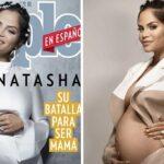 """""""Nunca podrás ser madre"""", le decían los médicos. Natti Natasha, confirma su embarazo."""