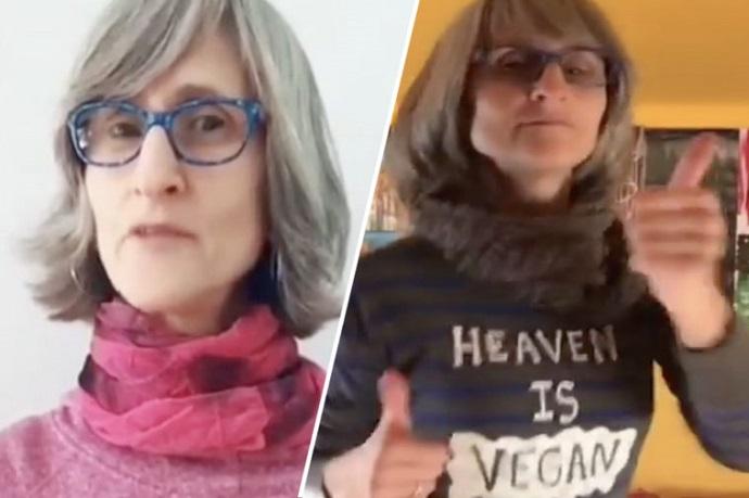 Una activista vegana fue removida de TikTok después de una petición que reunió 20 mil firmas.