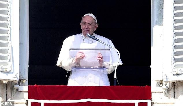 El Papa Francisco advierte sobre un nuevo Diluvio Universal debido al cambio climático.