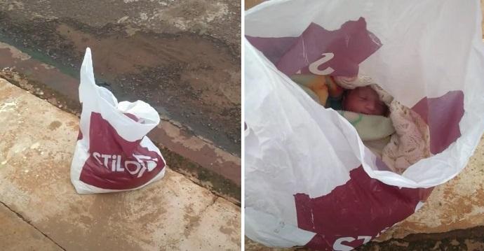Una mujer estéril encuentra un bebé abandonado en una bolsa.