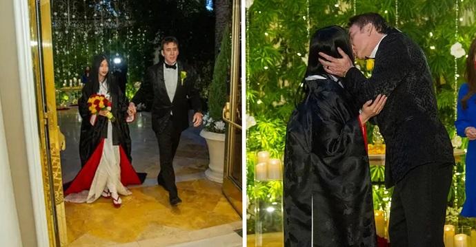 Nicolas Cage se casa por quinta vez con una mujer japonesa de 26 años.