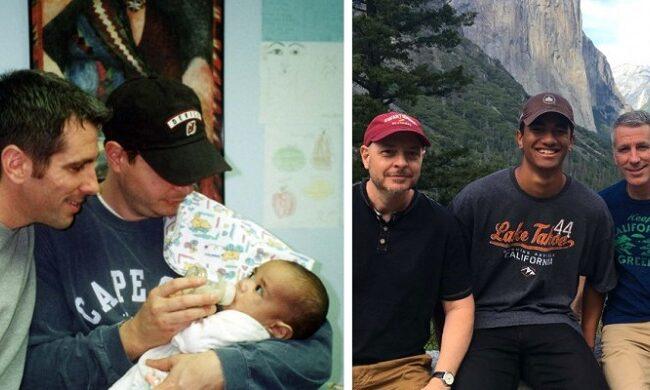 Pareja gay encuentra un bebé abandonado en el subte. Hoy, es su hijo.