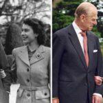 El príncipe Felipe y la reina Isabel, 70 años de amor en fotos.