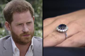 Harry cedió el anillo de Diana, para que su hermano se lo diera a Kate.