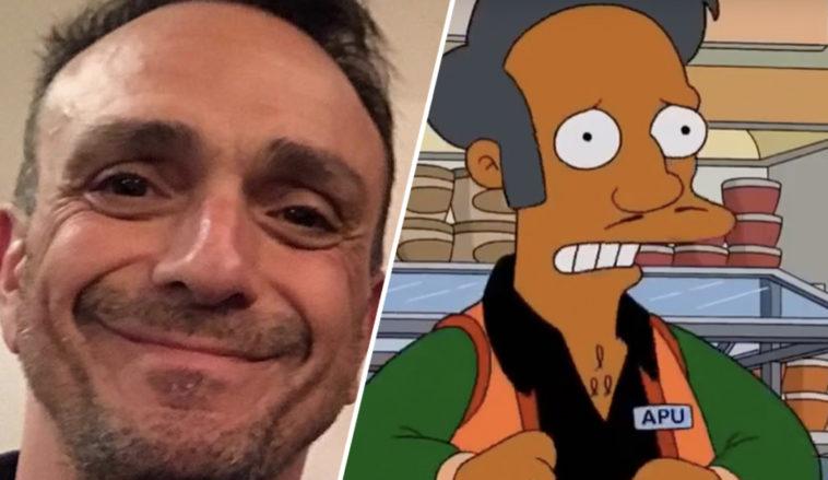 Hank Azaria se disculpa por haber sido la voz de Apu en Los Simpson.