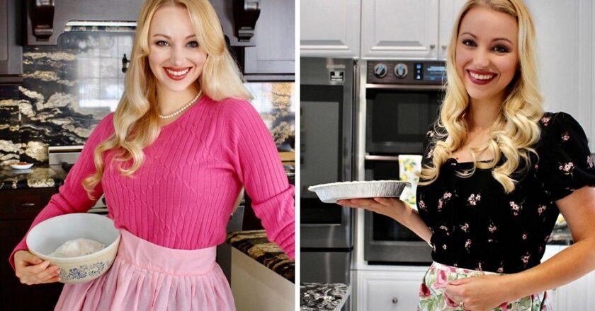 """Una mujer deja su carrera para ser ama de casa y """"servir"""" a su marido."""