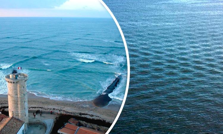 olas cuadradas peligro