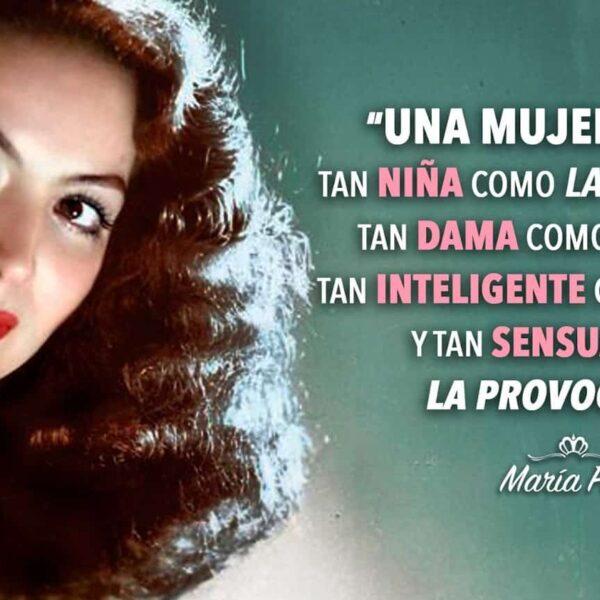 10 lecciones de vida que María Félix dejó a las mujeres.