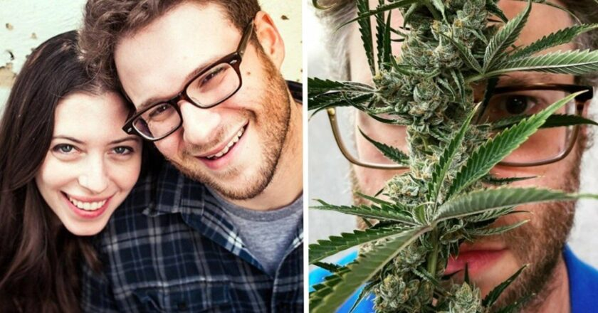 """Seth Rogen """"Preferimos fumar marihuana a tener hijos""""."""
